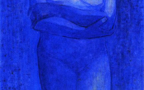 11.青の裸婦